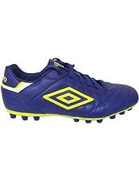 Umbro Bota Speciali Eternal Club AG Clematis Blue-Safety Yellow-White