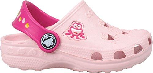 Coqui sabots pour enfant unisexe chaussures **lilas, fuchsia, bleu, rouge, bleu, jaune, rouge, bleu, noir ** - Pink/Fuchsia