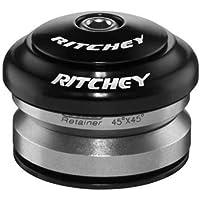 """Ritchey Comp Zero Dropin - Juego de dirección (1-1/8""""), Color Negro"""