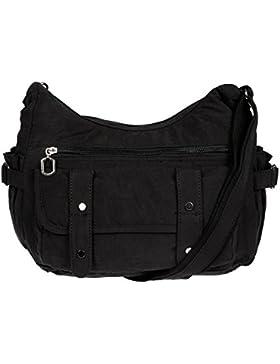 Christian Wippermann Damenhandtasche Schultertasche aus Canvas