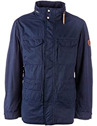Timberland Mens Mount Davis M65 Jacket Navy-Compatible Layering System (CLS)-Mix