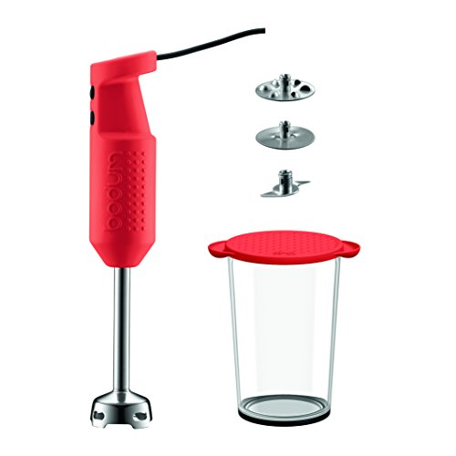 Bodum Bistro Elektrischer Mixer mit Zubehör (2 Scheiben, 1...