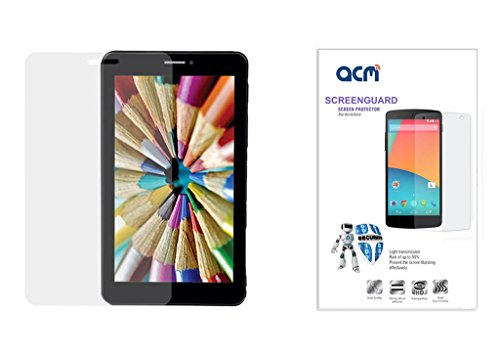 Acm Clear Screenguard For Iball Slide 7236 3g 17 Tablet Screen Guard Scratch Protector  available at amazon for Rs.199