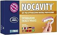 Nocavity NUOVA FORMULA Kit per Otturazioni Dentali Provvisorie. Isola la cavità dentale e riduce il dolore in