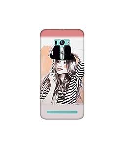 Kolor Edge Printed Back Cover for Asus Zenfone Selfie - Multicolor (4400-Ke11279ZenSelfieSub)