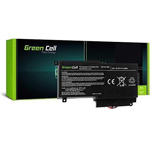 Green Cell PA5107U-1BRS Laptop Akku für Toshiba Satellite L50-A L50D-A L50t-A P50-A P50t-A P50-B S50-A S50D-A S50t-A (Li-Polymer Zellen 2800mAh 14.4V Schwarz)