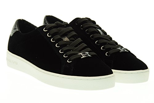 Michael Kors 43F6IRFS2D Sneakers Donna Velluto Nero Nero 37
