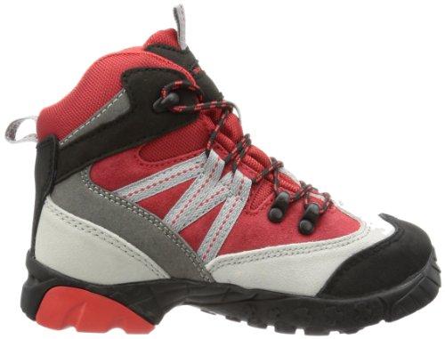 Alpina 680245 Unisex-Kinder Trekking- & Wanderstiefel Rot (Rot/Grau)