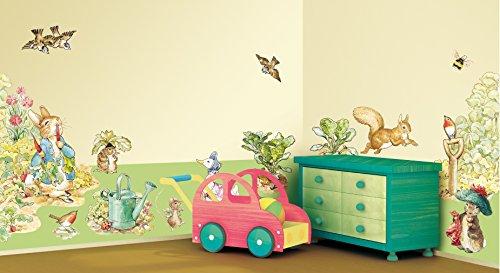 Kunst Applikationen Beatrix Potter Wandaufkleber