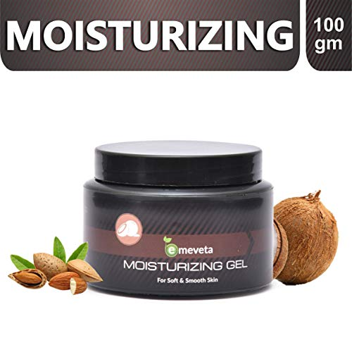 Emeveta Herbals Moisturizer Soft and Smooth Skin Face Gel for Dry Skin 100g