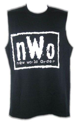 CAGO Tank Top NWO Weiss Retro, Gr.:M - Nwo-t-shirt