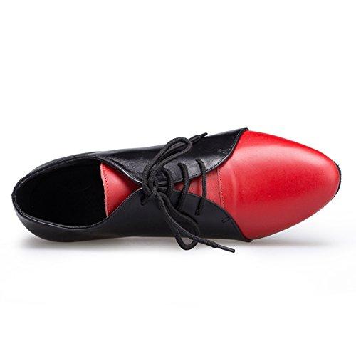 Miyoopark - Ballroom donna Black/Red-4.5cm Heel
