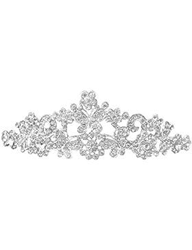 Hochzeit Braut Prom Strass Schmetterling lieben Blumen Kronen Stirnband Schleier Tiara