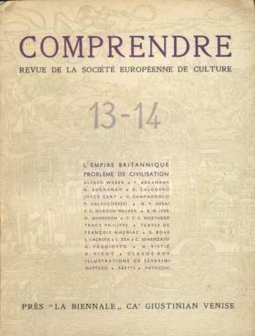 revue comprendre n ° 13-14 /l'empire britannique probleme de civilisation