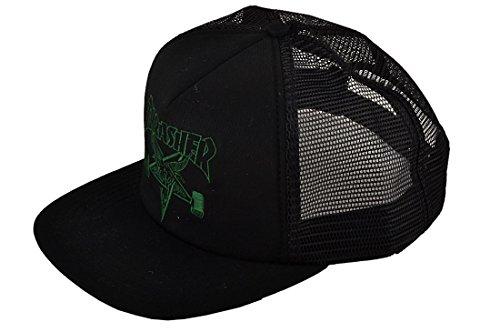 Thrasher Skategoat black/green Trucker Cap