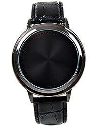 Reloj de pulsera deportivo unisex, incluye pantalla táctil y luces indicadoras LED intermitentes, correa