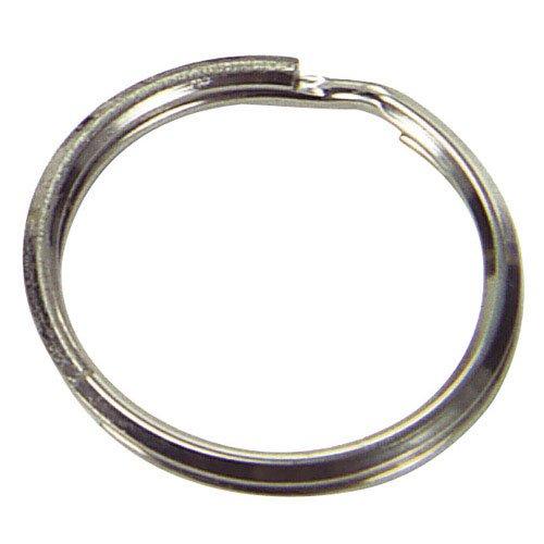 Aldes, Schlüsselring, Nickel 2,0 x 25 x 20 (Packung 300 Stück)