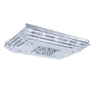 SAILUN® 48W LED Kristall Deckenleuchte Deckenlampe Wohnzimmer Design Licht für Wohnzimmer Schlafzimmer (48W Kaltweiß)