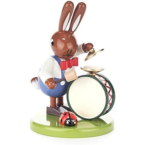 Conejo con tambor y Mariquita pequeño–Dregeno los Montes Metálicos.