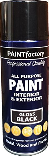 400ml-all-purpose-black-gloss-1732pr-spray-can-household-car-van-bike-aerosol-paint-2-pack