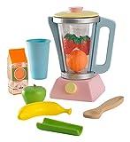 KidKraft - Set de juguete de preparación de smoothie con accesorios, Multicolore (Pastel) (63377)