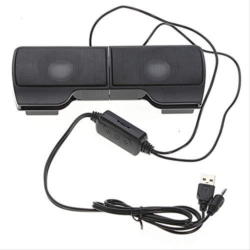 Blutooth speakers1 Paar Mini tragbare USB-Stereo-Lautsprecher Line-Controller geeignet für für Laptop MP3-Handy Musik-Player-Computer mit Clip -