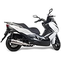 Escape Yasuni máxima de scooter 4T Titanio Look Kawasaki J125 Kymco Supe rdink 125 V21