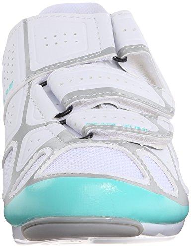 Pearl Izumi PI W SELECT RD IV White/Aqua Mint 41.0 Blanc - blanc