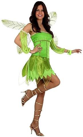 Atosa - 10185 - Costume - Déguisement De Fée De L'automne Verte - Taille 2