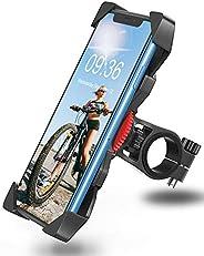 Bovon Porta Cellulare Bici, Supporto Bici, Supporto Smartphone per Moto MTB Universale Anti-Shake per Smartpho