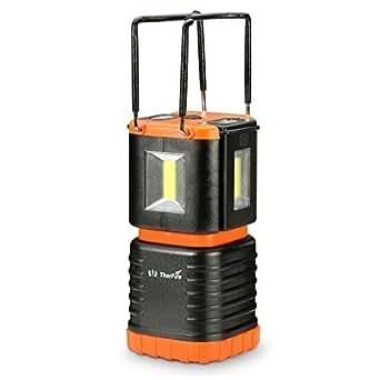 ThorFire Mini Lanterna LED Lampada 2 Lampadina Staccabile Torcia Portatile Ideale per Campeggio Hiking e in Emergenza
