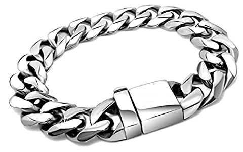 SaySure - Jewelry Link Chain Men Bracelet Never Fade Stainless Steel