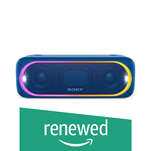 Renewed  Sony SRS XB30/LC IN5 Portable Bluetooth Speakers  Blue