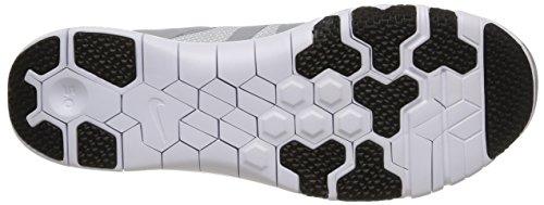 Nike Blanc / Grey / Plateado (Blanc / Blanc-Wlf Gry-Mtllc Slvr)