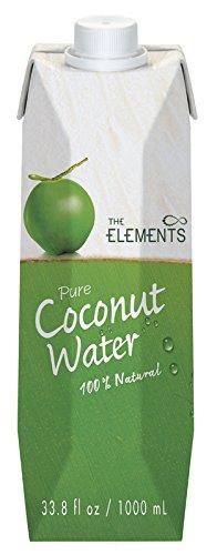 The Elements Kokosnusswasser Tetra Pak, 2er Pack (2 x 1 l) -