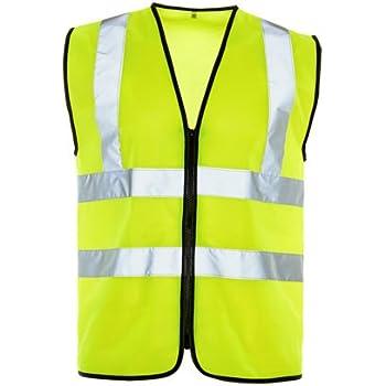 EN20471 Small Blackrock BHZEVO Orange High Visibility Executive Waistcoat Class 2
