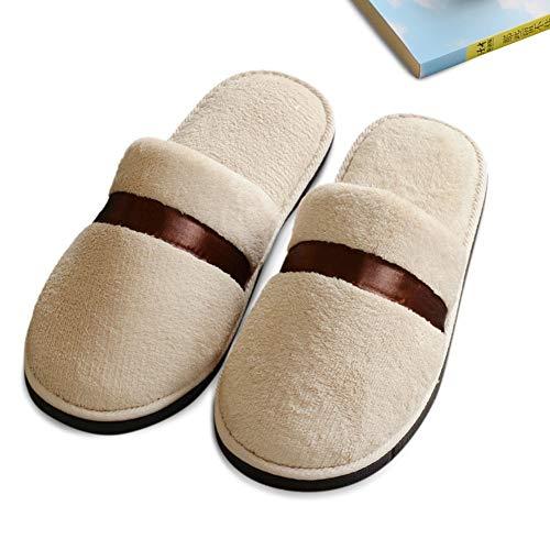 cc3e9a0d03a3b FLORYDAY Peluche Pantofole Donna Uomo Unisex Invernali Soletta Impermeabile  Caldo Invernale Antiscivolo Inverno Home Scarpe (