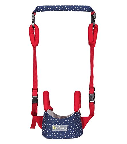 Happy Cherry Baby Hochwertige Lauflernhilfe mit Verstellbarem Gurt, Atmungsaktiv Lauflerngurt Auffanggurt Safety Harness für Baby(10-24 Monate)