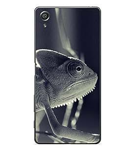 PrintVisa Jugle Animal High Gloss Designer Back Case Cover for Sony Xperia X :: Sony Xperia X Dual F5122