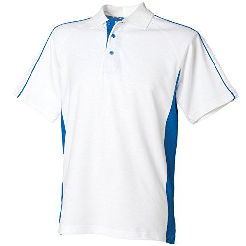 Polo Sport White/ Royal