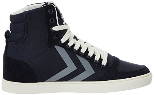 Hummel Damen Sl Stadil Herringbone High Top Blau (ombre blue)