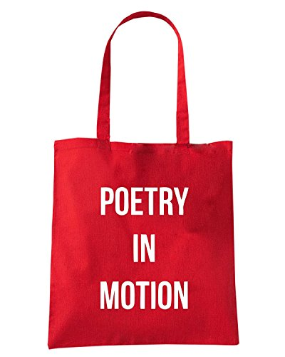 T-Shirtshock - Borsa Shopping WC0532 Poetry In Motion LFC Rosso