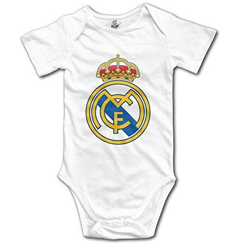 Recién Nacido Ropa Club de fútbol Real Madrid Basic Logo Cool bebé