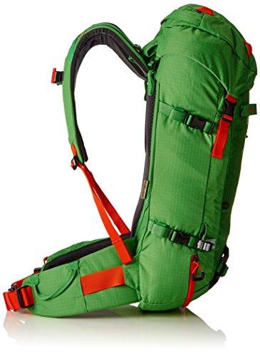Ortovox 00-0000004941, zaino da escursione, unisex, unisex, Rucksack Peak, Black Anthracite Absolute Green