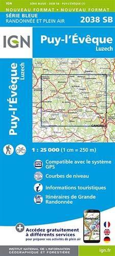 2038SB PUY-L'EVEQUE LUZECH par COLLECTIF
