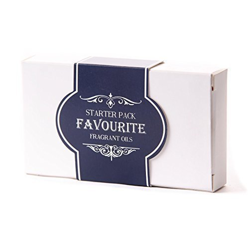Mystic Moments Fragrant Oil Starter Pack - Favourite Oils - 5 x 10ml - 100% Pure