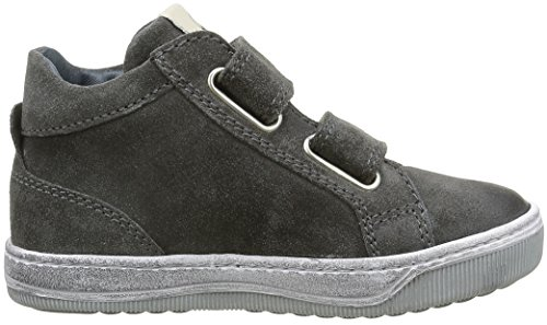 Naturino - Clay Vl, Sneaker Bambino Grigio (Gris (Gris Foncé))