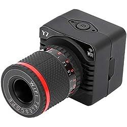 VBESTLIFE Télescope Numérique Zoom 50 X, Caméra Permet Regarder des Images de 500 Mètres Support Carte TF 32G avec Fonction de WiFi avec Support de Trépied