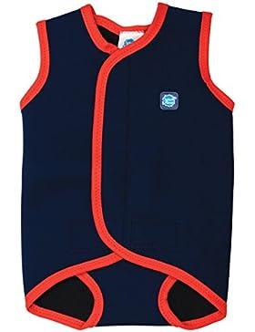 Splash About, Costume da bagno in neoprene per neonati, Blu (Navy Blue), 18-30 mesi