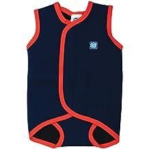 Splash About, Costume da bagno in neoprene per neonati, Blu (Navy Blue), 0-6 mesi